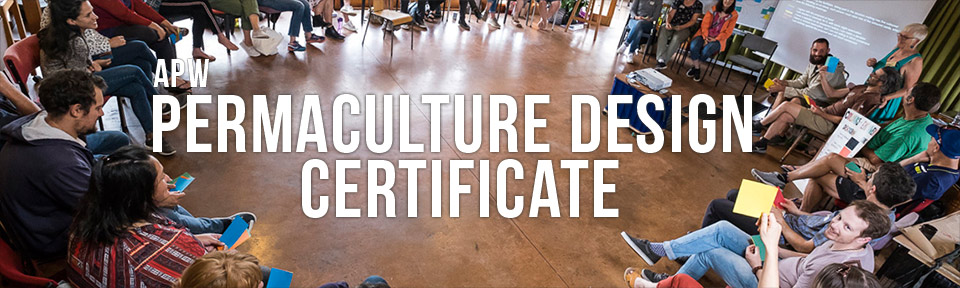 APW Permaculture Design Certificate - Programme 2020
